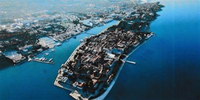 アドリア海に臨むザダル  欧州で行きたい1位に輝いた街!