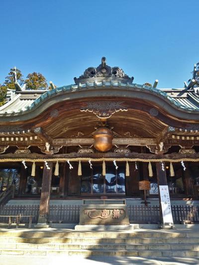 筑波山神社を見る