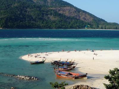 2020.2 リペ島は遠かった!成田から31時間、白い砂浜、透き通る青い海の色最高!