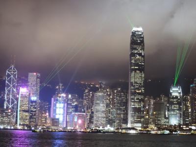 2018年6月香港旅行3 ビクトリアハーバーの夜景・香港国際空港・日本