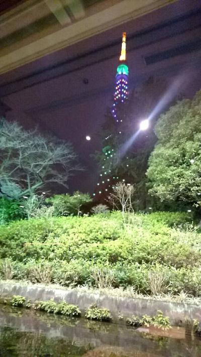 【東京】 東京プリンスホテル 和食 清水 で 遅い新年会