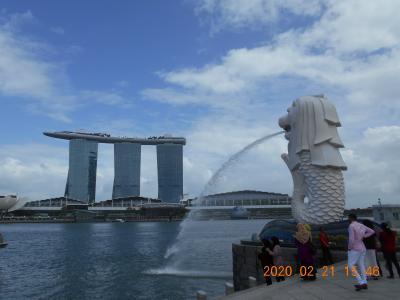 新型コロナウィルスのシンガポール・マレーシア
