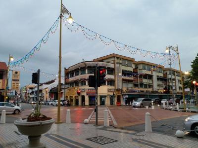 マレー半島南下旅【その5】 ジョージタウン、のんびり歩き。早くしないと、雨が降るぞー!?