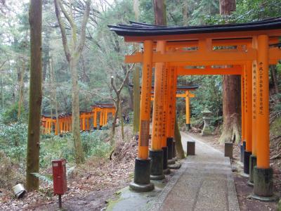 2020年2月、三連休の京都1:伏見稲荷参拝~山頂を一周