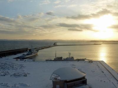 ANA空港巡り-その40 (初)稚内 2020冬の旅 4日目:稚内から羽田へ直行便で