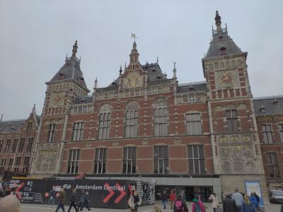 【おまけ】オランダ・アムステルダムをトランジットで街ブラ