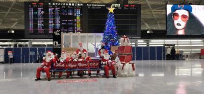 突然釜山 しかも滞在9時間 成田のデルタスカイクラブでまったりしただけかも~