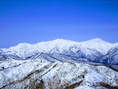 白山展望♪大日ヶ岳スノーハイク