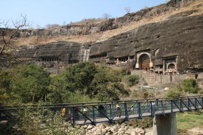 西インドの石窟寺院と世界遺産を訪れる旅 アジャンター編