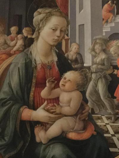 こんな時に初めてのイタリア6  フィレンツェ  パラティーナ美術館 と 再びスーパーでお土産購入