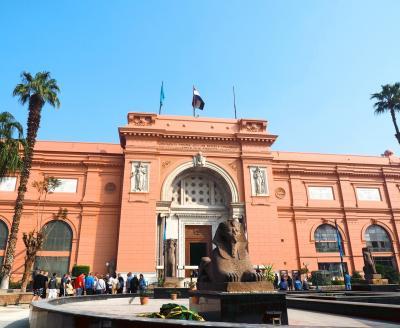 9日目 エジプト考古学博物館、ハンハリーリ市場