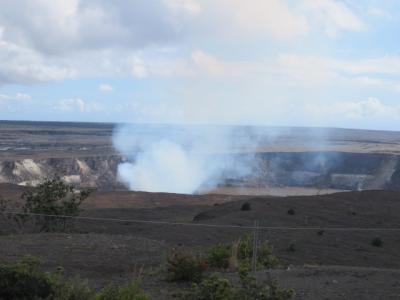 ハワイ19日間(6)ハワイ島一周ツアー(後)キラウエア火山、黒砂海岸のウミガメ、最南端のベーカリー