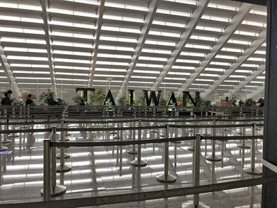 2/25時点の台北桃園空港の入国状況について