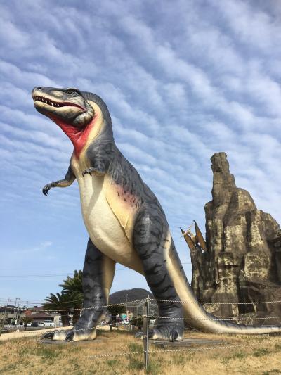岡山☆恐竜と菜の花