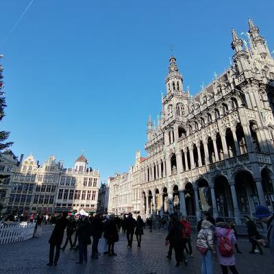 年越しベルギー3都市巡り