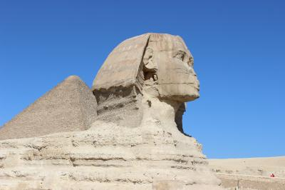 ツアー参加でエジプトへ5 ピラミッドとスフィンクス