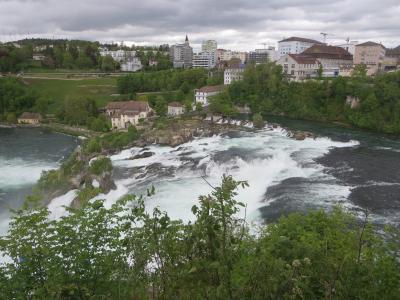 花のマイナウ島とアルザス地方・黒い森・スイスを巡る8日間+1日☆その3☆ラインの滝~迫力ありすぎ(∩´∀`)∩