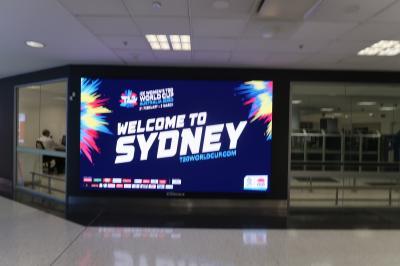初めての南半球 オーストラリア・シドニーへの旅6日間 その2(空港~ホテル)