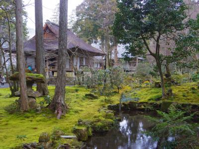 2020年2月、三連休の京都3:京都・大原・三千院と寂光院
