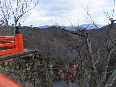 2020年2月、三連休の京都4:鞍馬寺と貴船神社