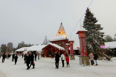 フィンランド・オーロラ紀行 サンタクロース村