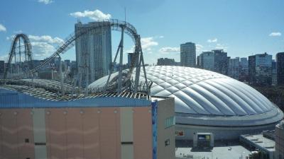 東京散歩・・ぜッ絶景だぁ❣ 文京シビックホールの職員食堂から東京ドーム見学 🎢