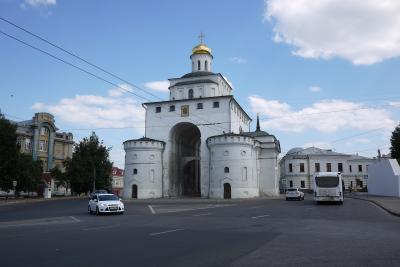 ツアー参加でロシアへ 6日目 …黄金の環 ウラジーミル、モスクワ