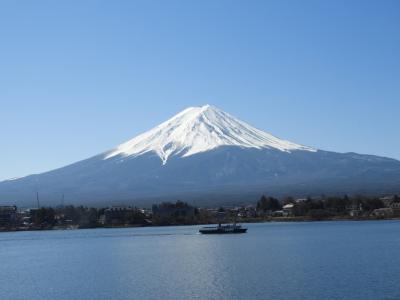 2020年3月 山梨(甲府・清里・河口湖・富士山)