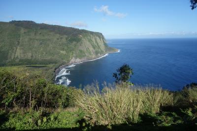 初めてのハワイ島3泊5日【3日目】ワイピオ渓谷、アカカの滝、キラウエア火山、溶岩洞窟、黒砂海岸