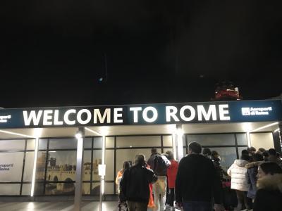 公共交通機関でめぐる、ローマと南イタリア ローマへ