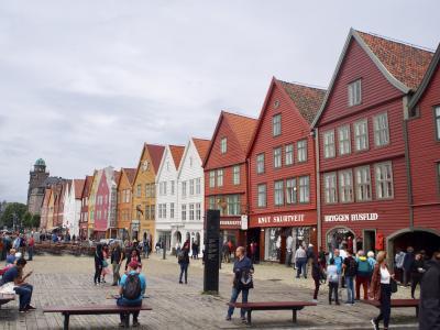 北欧の旅 ノルウェーはベルゲンから巡ります♪ 初めてのAirbnb体験も