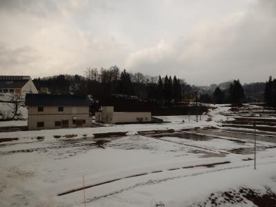 飯山線とか、雪見 暖冬の現実に直面。 その2