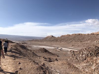 サンペドロデアタカマ からウユニへ② 月の谷