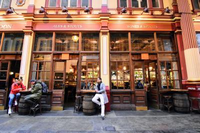 中学生とご褒美UK旅行 part 11 - ハリポタ三昧のロンドン初日