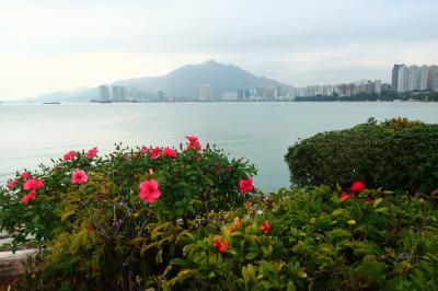 香港★海岸沿いさんぽ ~黄金海岸海豚廣場~