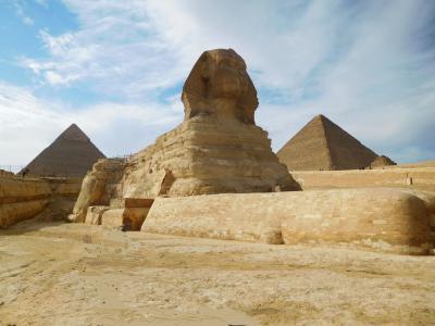 8日間のエジプトツアー(2):3日目(ギザ)