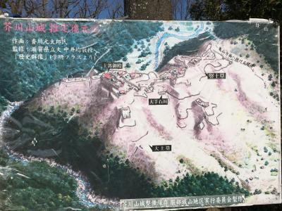 2020 03 麒麟がくる 三好長慶城