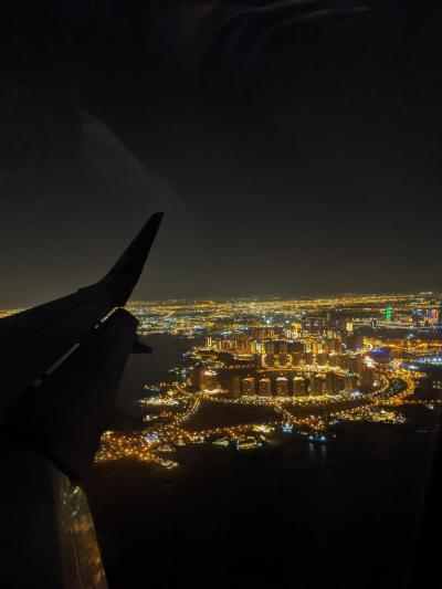 カタール航空にて深夜トランスファー at ドーハ