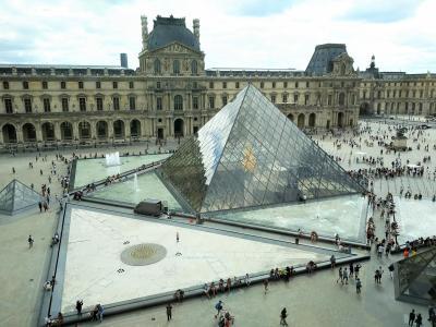 2018夏 フランス・ドイツ周遊 5日目 ルーブル美術館 見どころおさえてサクっと半日観光
