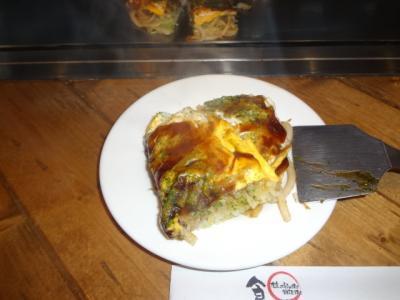 お花見の下見(武蔵野市) 帰り 荻窪で 広島お好み焼き 食べました