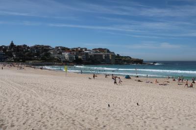 初めての南半球 オーストラリア・シドニーへの旅6日間 その5(ボンダイビーチ)