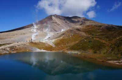まさかの台風直撃!? 秋の大雪山旭岳と青い池 ① (旭岳をぐるっとハイキング)