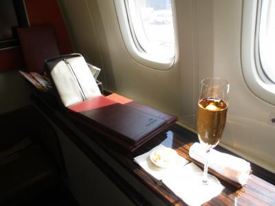 ガルーダインドネシア航空ファーストクラスで行くオールインクルーシブの旅:その1