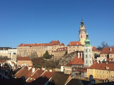 未練盛り盛り中欧旅のお話②チェコ:チェスキークルムロフ編 お城のライトアップを見逃す失態、、、