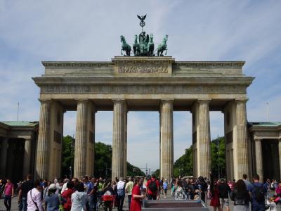 ベルリン(Berlin) 1日目(ブランデンブルク門、戦勝記念塔)