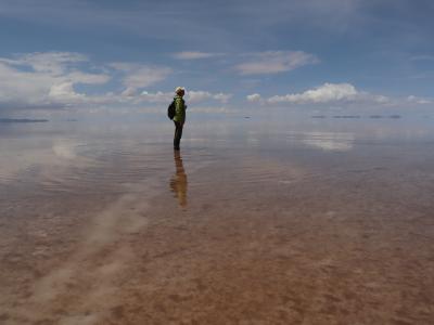 サンペドロデアタカマ からウユニへ⑦ 再度、ウユニ塩湖へ