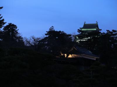 松江・出雲の旅2泊3日 (1日目)日暮れの松江散歩