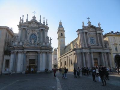 イタリア 「行った所・見た所」 トリノのサンカルロ広場周辺を歩きました
