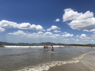 コスタリカのTamarindoビーチへ