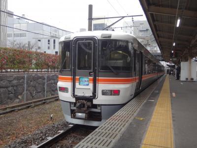 JR東海フリーきっぷのモトを取るのだ。飯田線からの「身延線&御殿場線」乗りつぶし(その1)